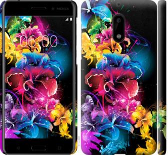 Чехол на Nokia 6 Абстрактные цветы
