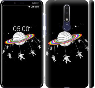 Чехол на Nokia 3.1 Plus Лунная карусель