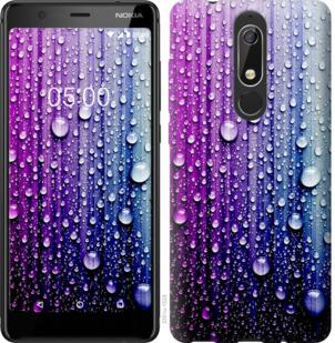 Чехол на Nokia 5.1 Капли воды