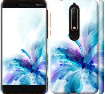 Чехол на Nokia 6.1 цветок