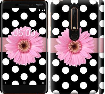Чехол на Nokia 6.1 Горошек 2