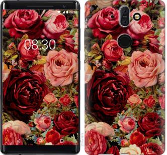 Чехол на Nokia 8 Sirocco Цветущие розы