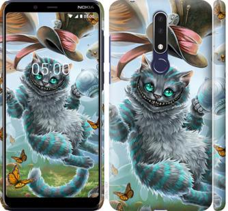 Чехол на Nokia 3.1 Plus Чеширский кот 2