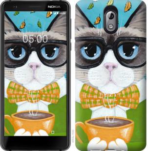 Чехол на Nokia 3.1 CatandCoffee