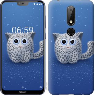 Чехол на Nokia 6.1 Plus Барс