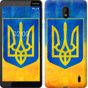 Чехол на Nokia 1 Plus Герб Украины