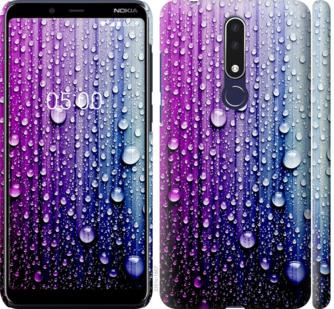 Чехол на Nokia 3.1 Plus Капли воды