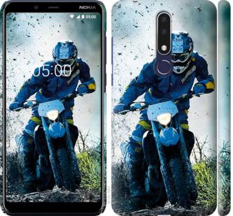 Чехол на Nokia 3.1 Plus Мотокросс