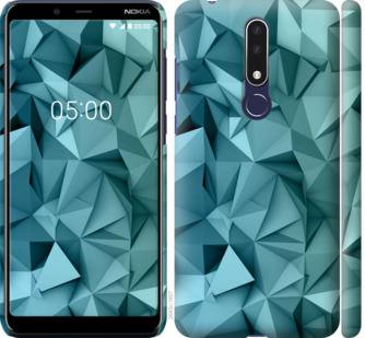 Чехол на Nokia 3.1 Plus Геометрический узор v2