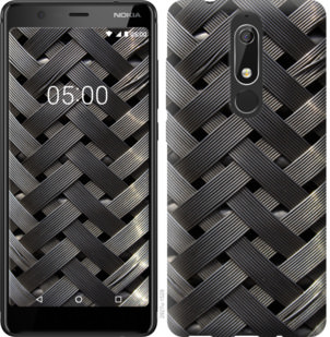 Чехол на Nokia 5.1 Металлические фоны