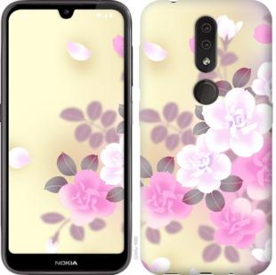 Чехол на Nokia 4.2 Японские цветы