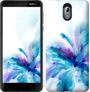 Чехол на Nokia 3.1 цветок