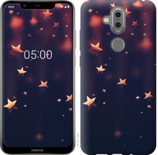 Чехол на Nokia 7.1 Plus Падающие звезды