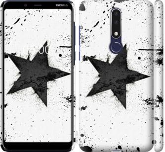 Чехол на Nokia 3.1 Plus Звезда