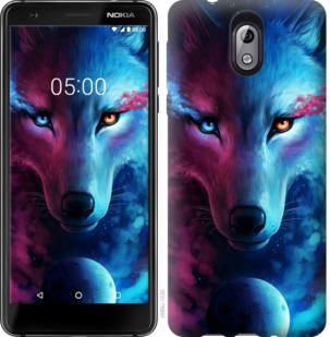 Чехол на Nokia 3.1 Арт-волк