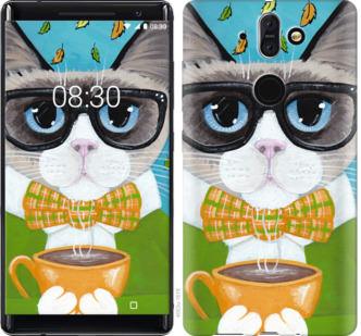 Чехол на Nokia 8 Sirocco CatandCoffee