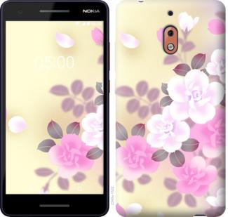 Чехол на Nokia 2.1 Японские цветы