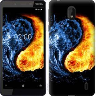 Чехол на Nokia 1 Plus Инь-Янь