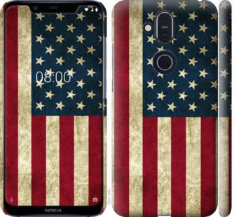 Чехол на Nokia 8.1 Флаг США