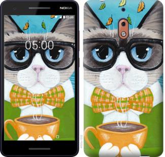 Чехол на Nokia 2.1 CatandCoffee