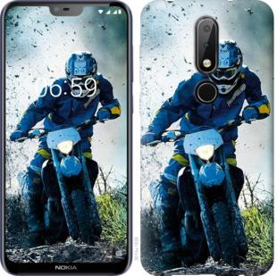 Чехол на Nokia 6.1 Plus Мотокросс