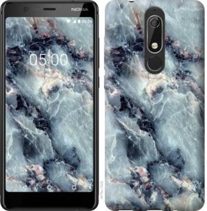 Чехол на Nokia 5.1 Мрамор