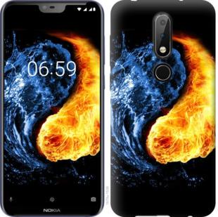 Чехол на Nokia 6.1 Plus Инь-Янь