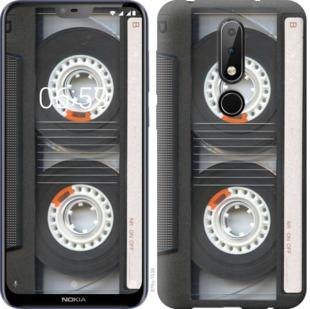 Чехол на Nokia 6.1 Plus Кассета