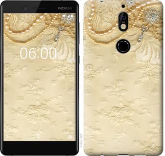 Чехол на Nokia 7 Кружевной орнамент
