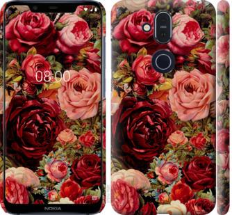 Чехол на Nokia 8.1 Цветущие розы