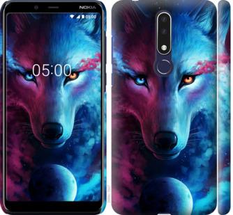Чехол на Nokia 3.1 Plus Арт-волк