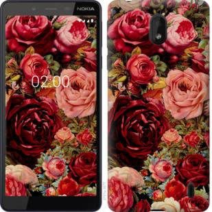 Чехол на Nokia 1 Plus Цветущие розы