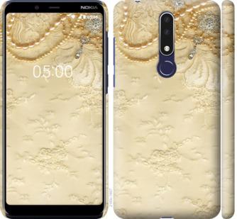 Чехол на Nokia 3.1 Plus Кружевной орнамент