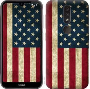Чехол на Nokia 4.2 Флаг США