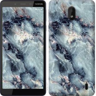 Чехол на Nokia 1 Plus Мрамор