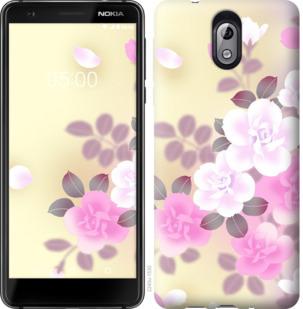 Чехол на Nokia 3.1 Японские цветы
