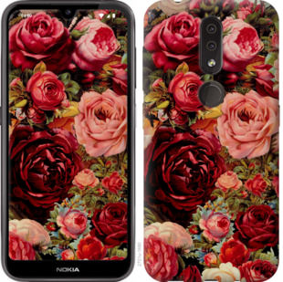 Чехол на Nokia 4.2 Цветущие розы