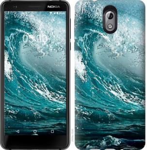 Чехол на Nokia 3.1 Морская волна
