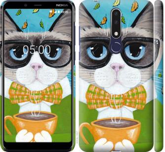 Чехол на Nokia 3.1 Plus CatandCoffee