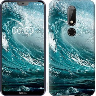 Чехол на Nokia 6.1 Plus Морская волна