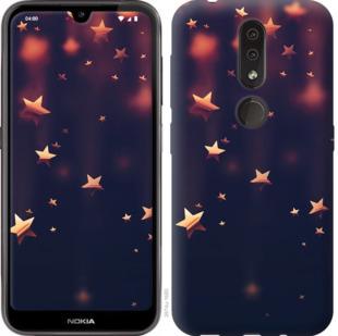 Чехол на Nokia 4.2 Падающие звезды
