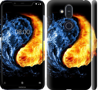 Чехол на Nokia 8.1 Инь-Янь