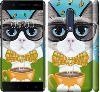Чехол на Nokia 5 CatandCoffee