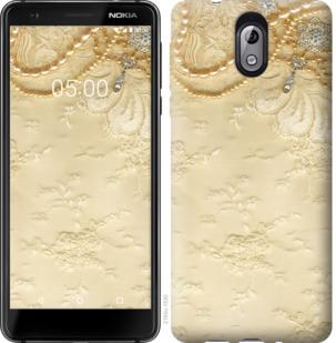 Чехол на Nokia 3.1 Кружевной орнамент