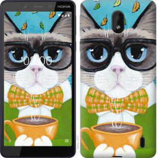 Чехол на Nokia 1 Plus CatandCoffee