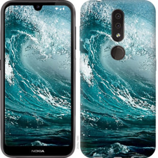 Чехол на Nokia 4.2 Морская волна