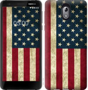 Чехол на Nokia 3.1 Флаг США