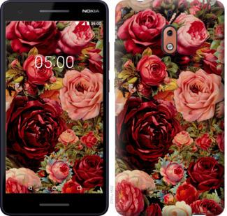 Чехол на Nokia 2.1 Цветущие розы