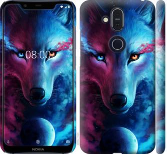 Чехол на Nokia 8.1 Арт-волк