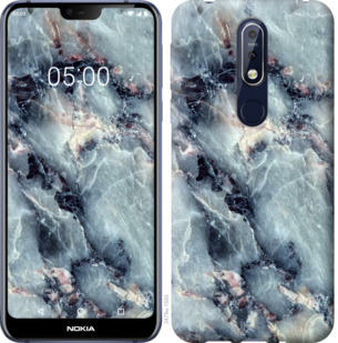 Чехол на Nokia 7.1 Мрамор